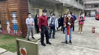 中原大學建築系合作蘆竹消防分隊 加強古蹟保護