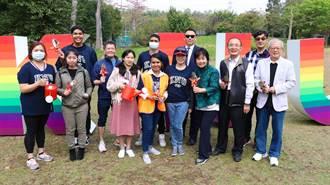 開南大學植樹節 帛琉外籍生共襄盛舉