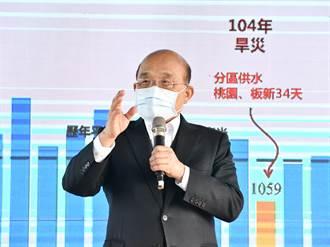《经济》降雨极端缺少 苏贞昌吁共同抗旱