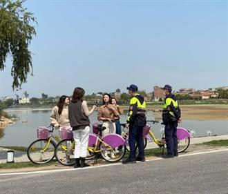 4名空姐遊金門 警員熱心客串「導遊」