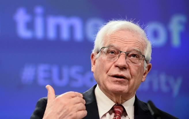 歐盟譴責北京更改香港選制 揚言採額外措施。(圖/路透)