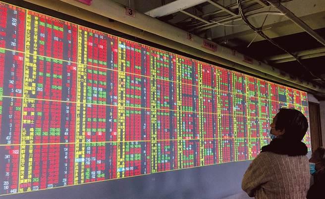 美股全面走揚激勵,台北股市今(12日)收盤上漲75點。(圖/本報系資料照片)