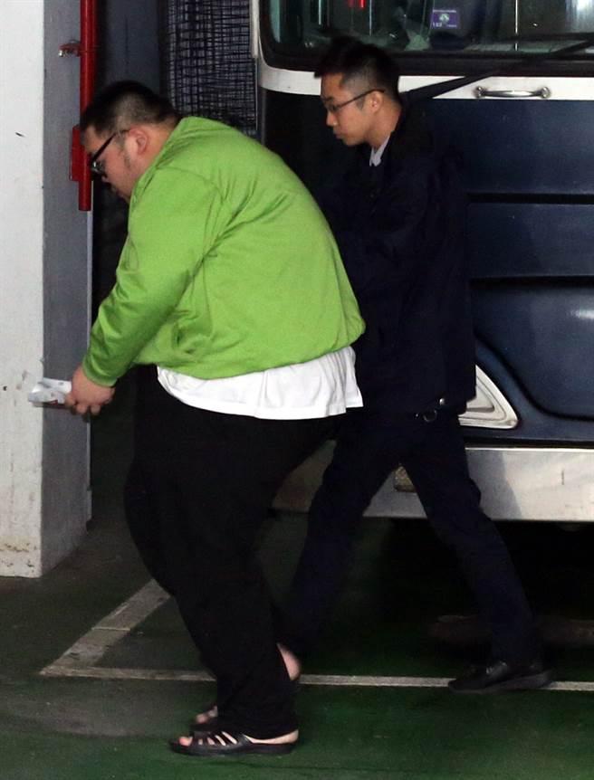 台北地檢署偵辦W飯店命案,提訊戒治中的土豪哥朱家龍(圖/中時資料照)