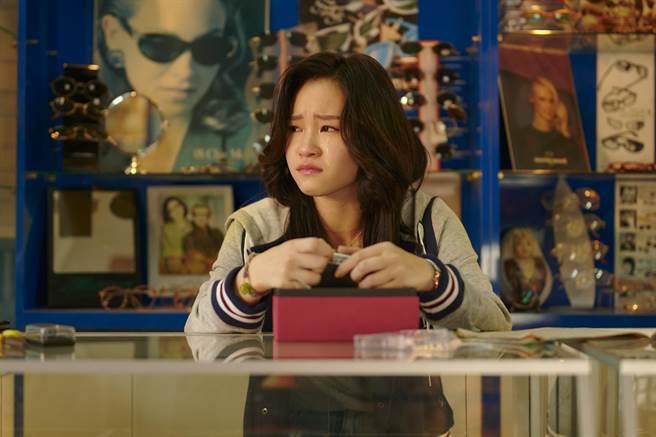 盧以恩戲裡詮釋青春愛戀糾葛。(公視、myVideo提供)