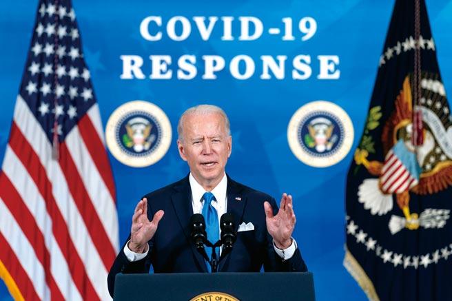 美國總統拜登將在星期四黃金時段(台北時間今早9點)發表演說。(美聯社)