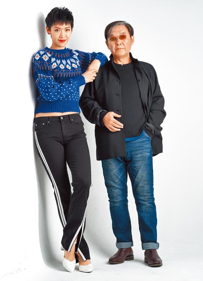 李立群(右)難得帶女兒李元元接受專訪。(JOJ PHOTO提供)