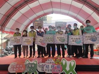 響應世界結核病日 南市宣導活動為民眾健康篩檢