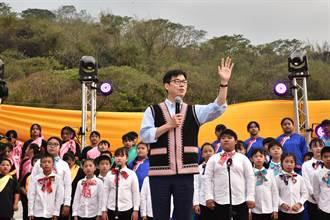 六龜嘎呼拉斯音樂節 陳其邁盼傳遞最接近天堂的聲音