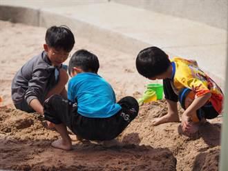 還不來玩?桃園龍潭再添特色沙坑公園 孩子快樂玩沙嗨翻天