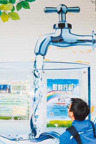 耗水費兩階段開徵 每度1~3元