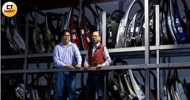 界上各大車廠的車門,鉅門都會買回來做研究。 (圖/王永泰攝)