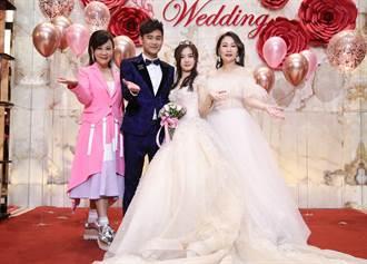 吳俊宏結婚送60萬金塊 張秀卿破禁忌當伴娘