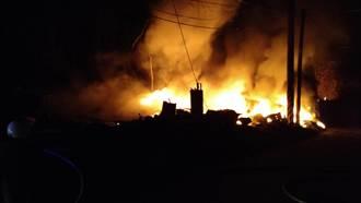 后里橡膠廠1個月內失火4次 居民大罵還要燒幾次