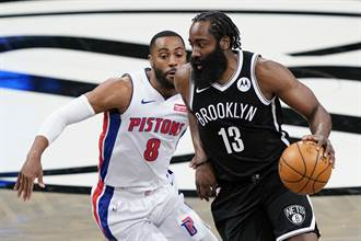 NBA》這次換大鬍子!哈登大三元領籃網復仇