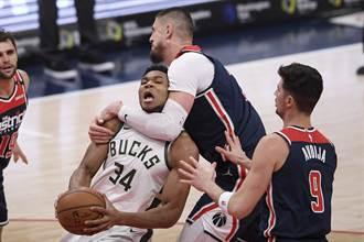 NBA》大三元碰上大三元 字母哥強壓韋少險勝