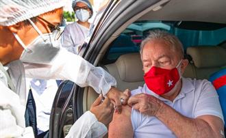 巴西75歲前總統盧拉 接種大陸新冠疫苗