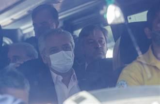 視察森林大火 阿根廷總統座車遭民眾包圍攻擊