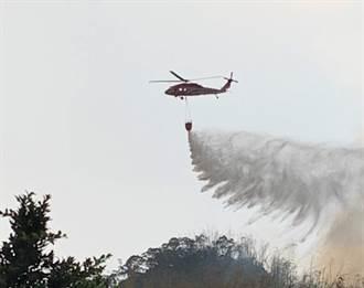 美濃乾旱又火燒山 消防車無法進入山區 僅部分控制火勢