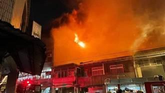 筆電起火燒掉公寓住家 男子滅火失敗燙傷逃生