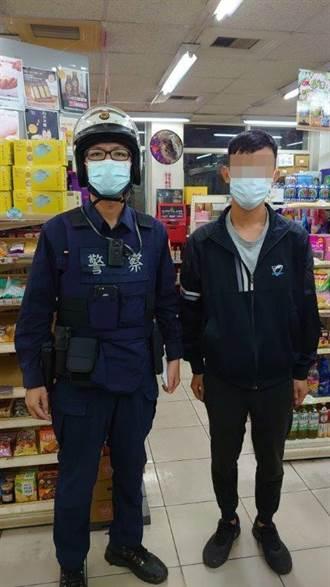 男大生為愛沖昏頭險失3萬 警察與超商店員聯手阻詐