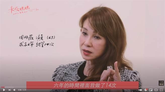 周丹薇6年做14次試管。(圖/YT@三立華劇 SET Drama)