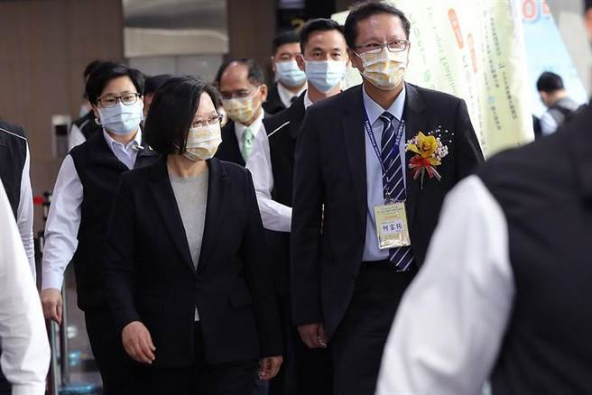 蔡英文總統出席台北國際中醫藥學術論壇大會開幕式(總統府提供)