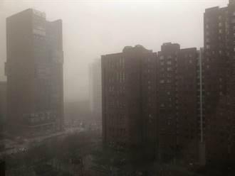 沙塵暴今襲北京 污染物PM10指數500達嚴重污染