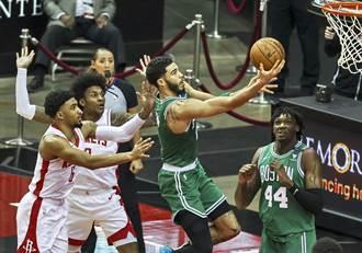 NBA》火箭好爛!主場遭塞爾提克痛扁吞16連敗
