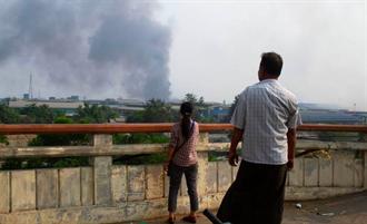 緬甸陸企遭打砸搶燒 陸駐緬使館批十分惡劣