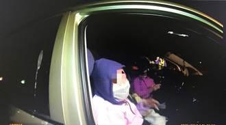 和平警方擴大臨檢 查獲4名非法移工