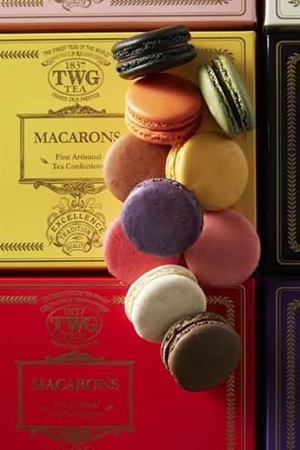 慶祝世界馬卡龍日 TWG Tea當日限定手工茶香馬卡龍買一送一