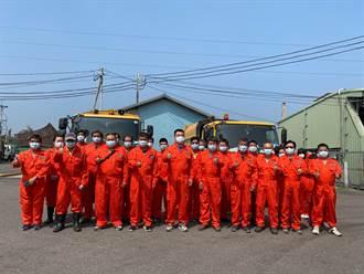 提升清潔隊員工作安全性 大林公所打造閃亮新裝