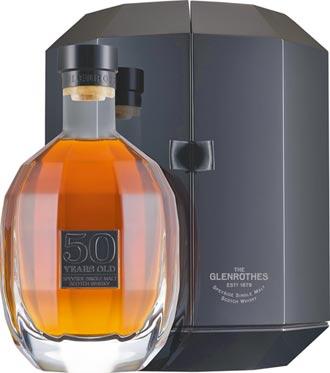 格蘭路思50年單一麥芽威士忌 珍釀半世紀情懷