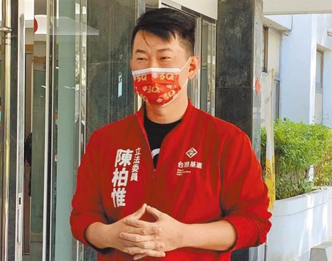 台灣基進立委陳柏惟。(資料照,林欣儀攝)