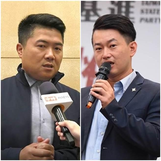 顏寬恒(左)、陳柏惟(右)在網路筆戰。(資料照)