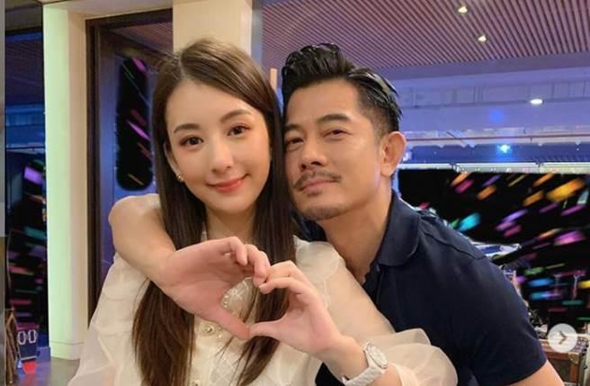 郭富城與方媛在2017年結婚,夫妻育有一對女兒,幸福組成一家四口。(圖/取材自方媛Instagram)