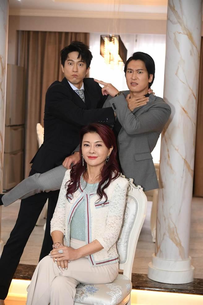 葛蕾劇中與邱昊奇、邵翔對手戲不少。(三立提供)
