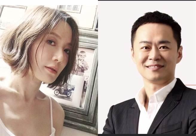 尹馨、張承中兩年情斷。(摘自臉書)
