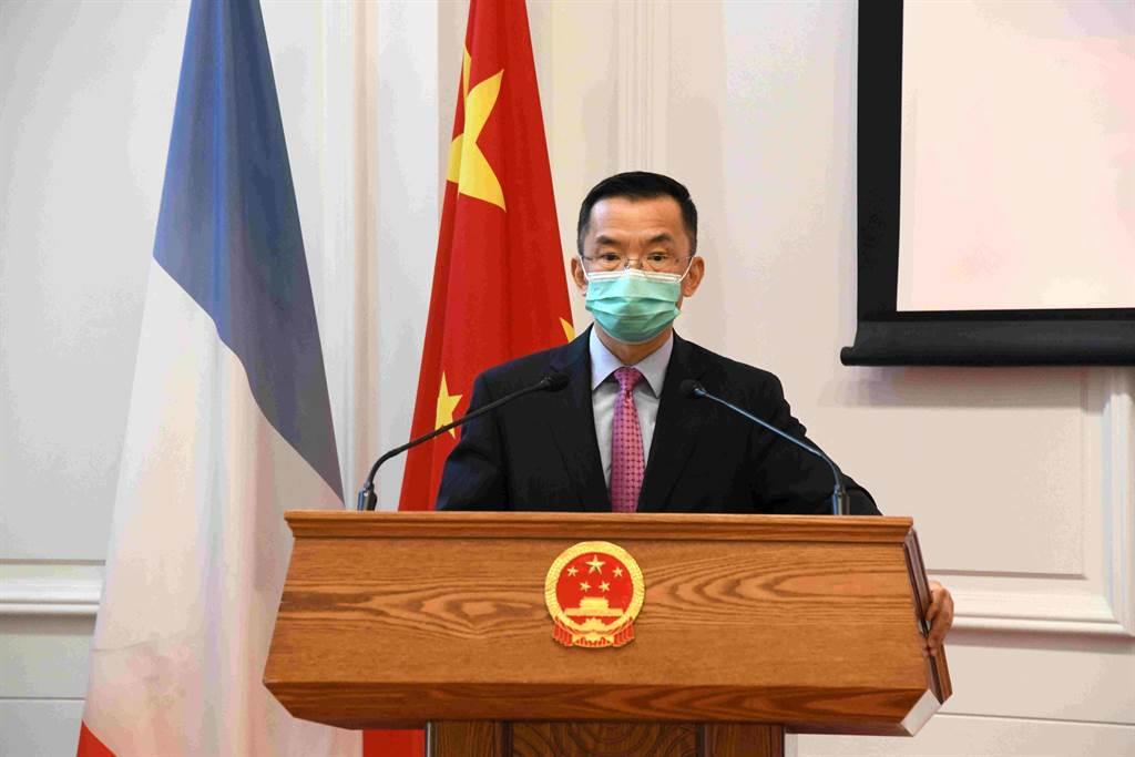陸大使致函施壓 要求法國議員取消訪台行。圖為中國駐法大使盧沙野。(圖/中新社資料照)