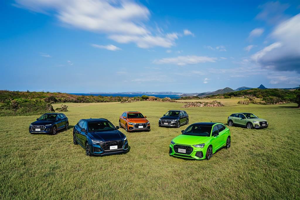 Audi繼Q8、Q5在台上市後,Q2也在今日正式上市。