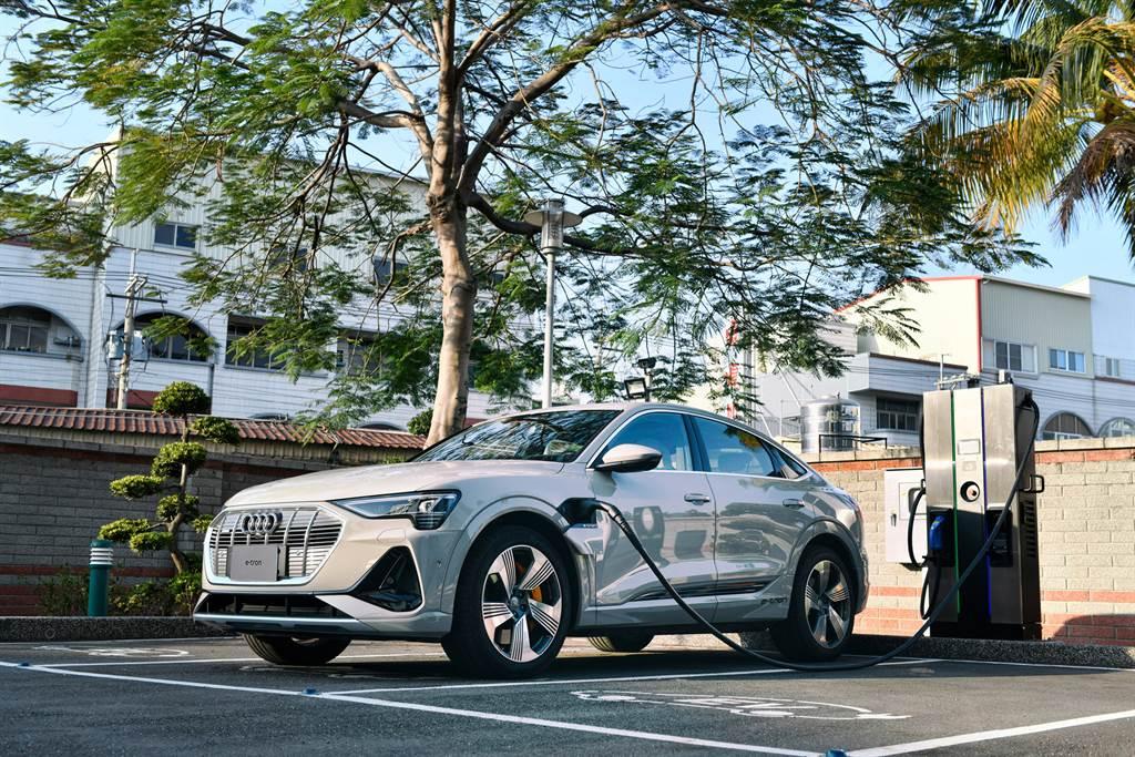 台灣奧迪攜手Noodoe EV、EVALUE與EV OASIS等三家合作夥伴,共同打造快充與目的地充電的環台電網。
