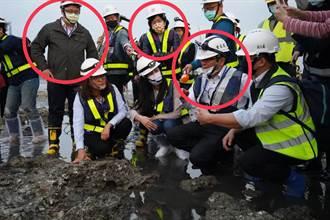 【烏賊戰】鄭運鵬批藍委踩藻礁 一張照片打臉:蘇巧慧也在場