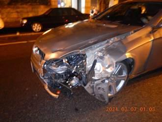 搶救9天 遭無照駕賓士男撞傷女騎士不治