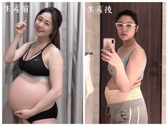 白家綺產後真實身材照曝光 凸肚讓經紀人看傻:是產前吧?