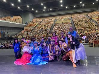 桃文化局連續9年舉辦《牽手進劇場》 帶孩童體驗劇場藝術