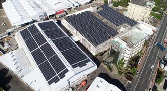 中市加碼補助設置太陽光電 工廠類建築物最高50萬元