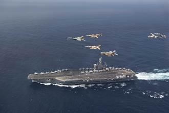 漏油停不住 美「艾森豪號」航艦打擊群戰力下滑