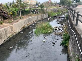 李榮鴻爭經費 外埔六分里綠廊道護堤完成整治