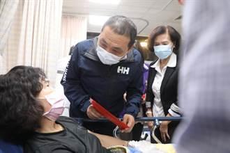 【蘇花車禍】侯友宜直奔宜蘭探視傷者 承諾全力協助後續賠償