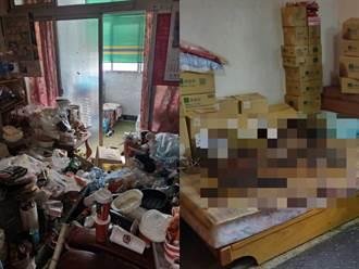 獨/台中獨居男陳屍家中一個月 命案清理師爆警破門狂嘔吐